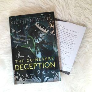 The Guinevere Deception by Kiersten White Book
